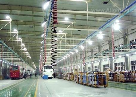 工厂led照明节能改造